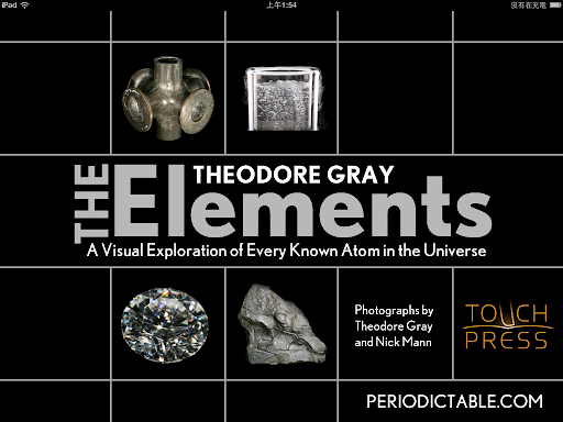 The Elements 進入畫面