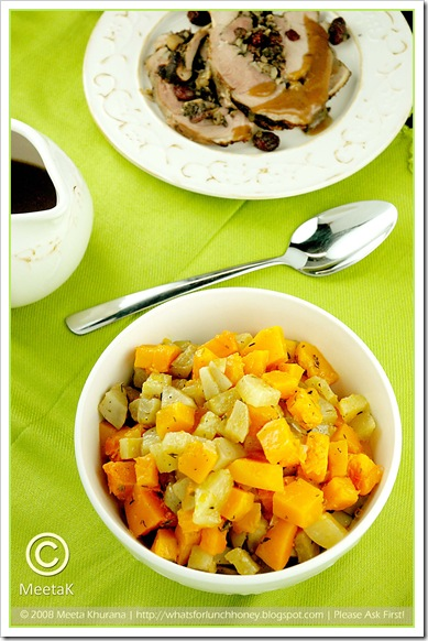 Roasted Kohlrabi and Squash (03) by MeetaK