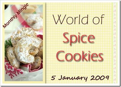 MM spice cookies