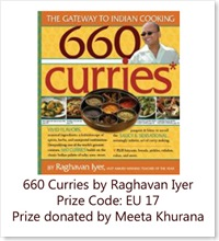 660 Curries by Raghavan Iyer Prize Code EU17