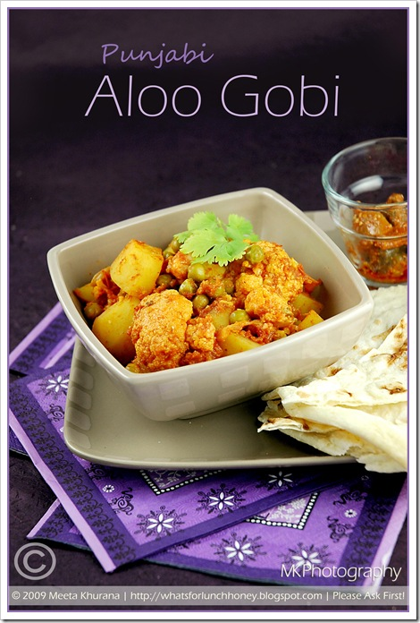 ... Cooking: Punjabi Aloo Gobi – Spiced Cauliflower and Potatoes