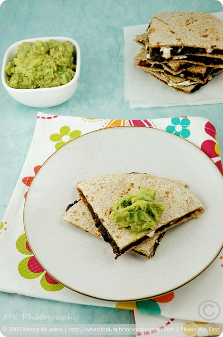 BlackBeanQuesadillas02 framed