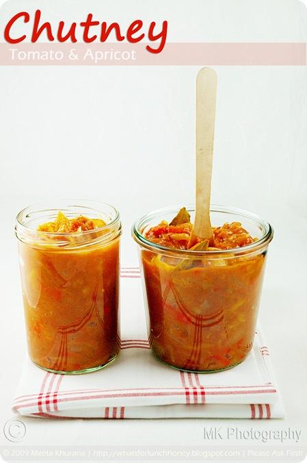 Tomato Apricot Chutney (01) by MeetaK