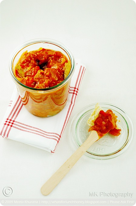 Tomato Apricot Chutney (03) by MeetaK
