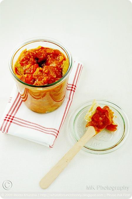 Tomato Apricot Chutney (03) by MeetaK