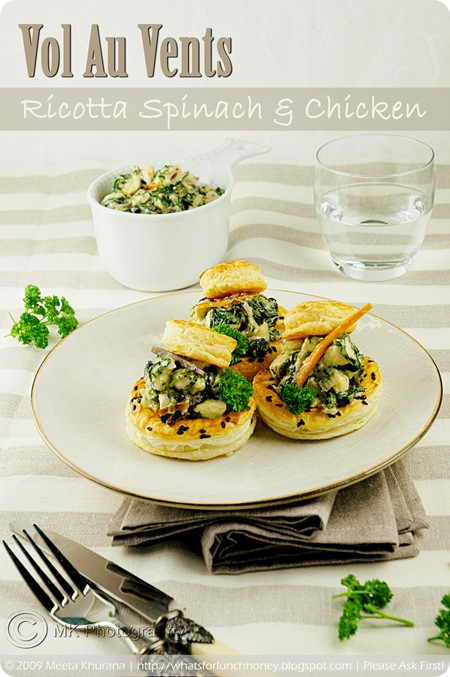 Vol Au Vents- Chicken Ricotta (01) by MeetaK
