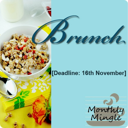 Monthly Mingle Brunch Logo