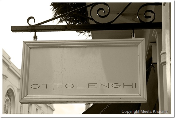 Ottolenghi Sign