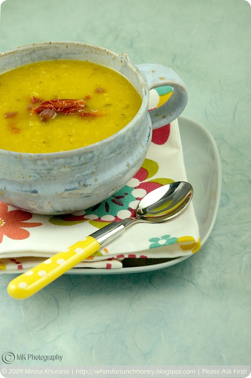 Red Bell Pepper and Fava Bean Soup (02) by MeetaK