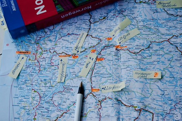 Norway2010Route