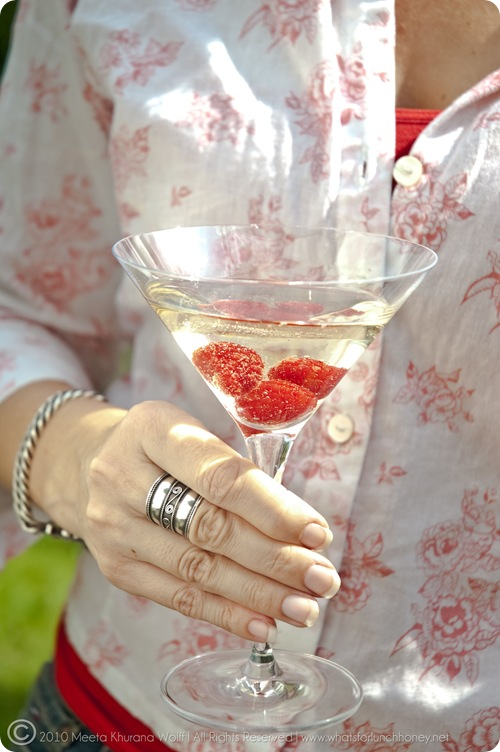 Raspberry Prosecco Cocktail (02) by MeetaK