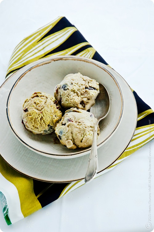 Matcha Cherry Ice Cream (0005) by MeetaK
