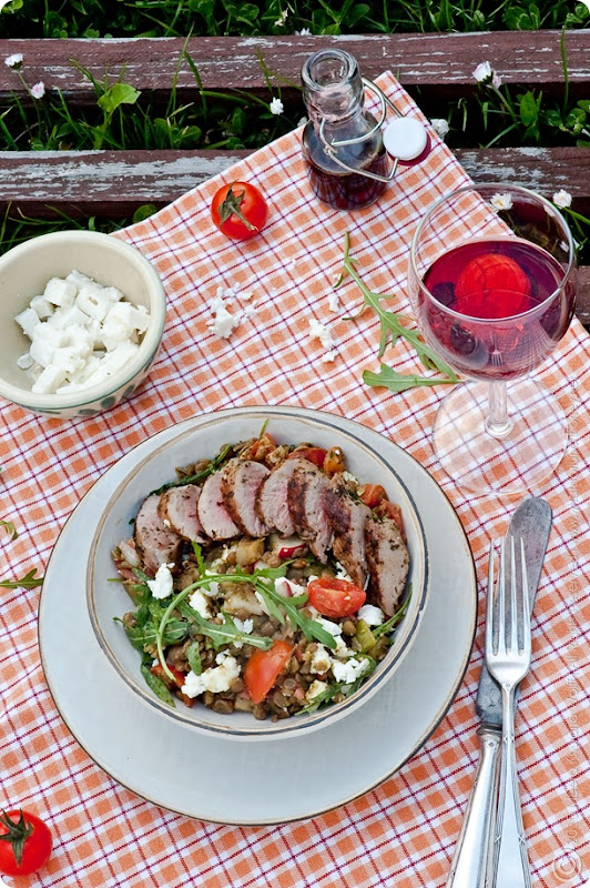 Lamb Lentil Salad (00015) by Meeta K. Wolff