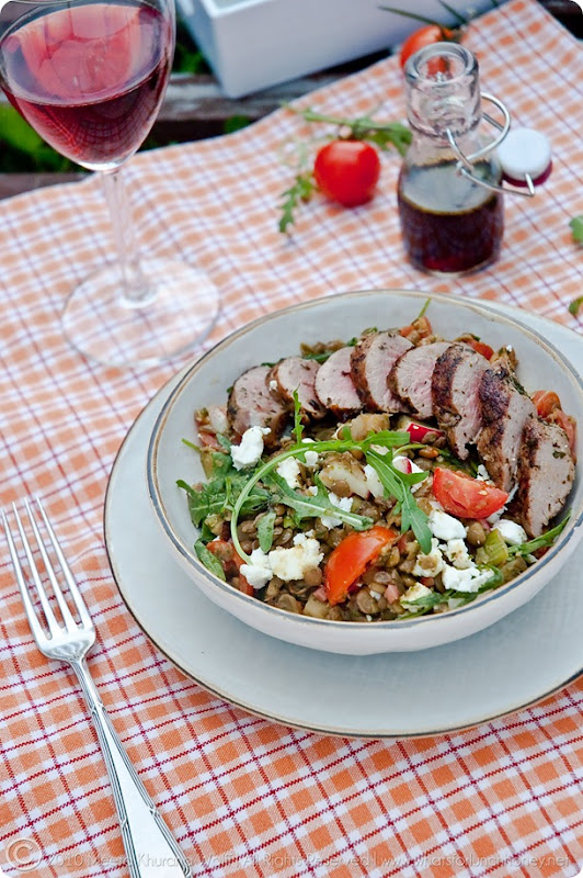 Lamb Lentil Salad (0007) by Meeta K. Wolff