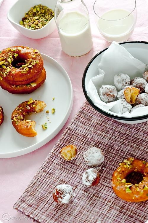 Saffron Cardamom Doughnuts (017) by Meeta K. Wolff