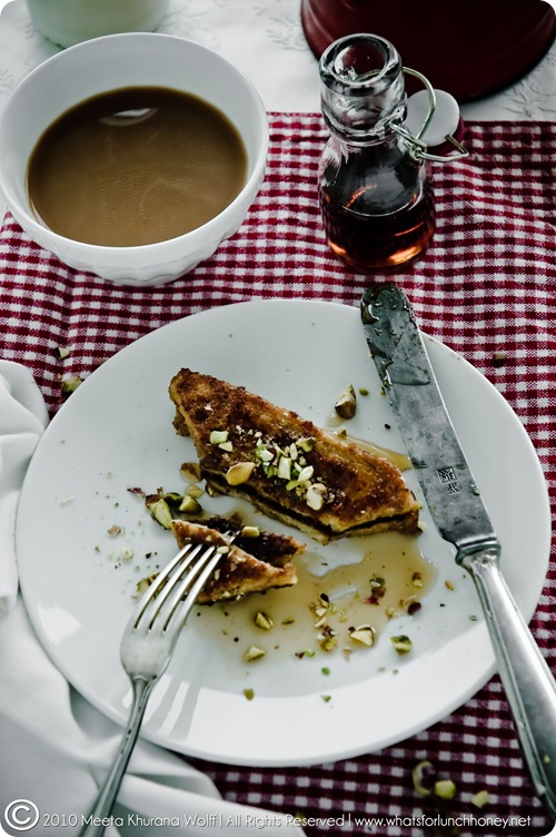 Chocolate and Pistachio French Toast (0013-2) by Meeta K. Wolff