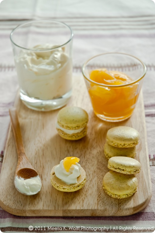 Lemon Pepper Macarons (0042) by Meeta K. Wolff