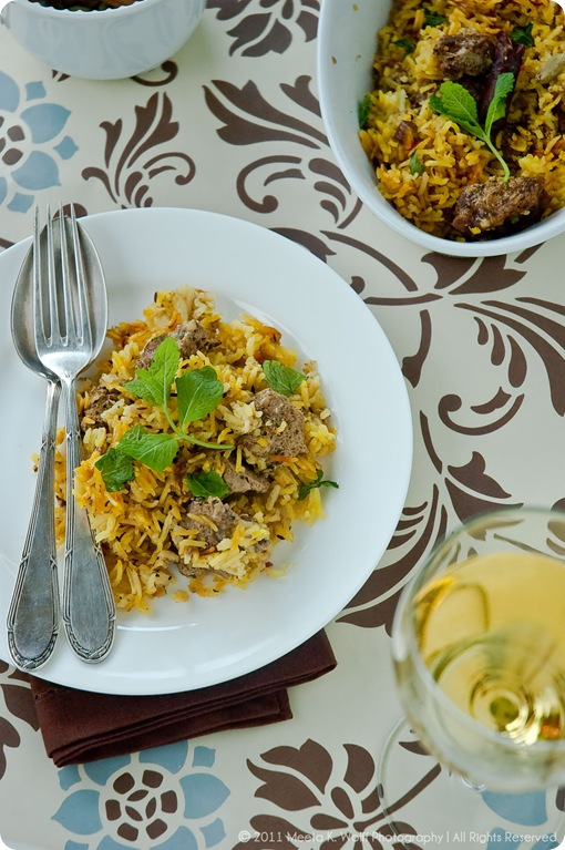 Hyderabadi Lamb Biryani (0032) by Meeta K. Wolff