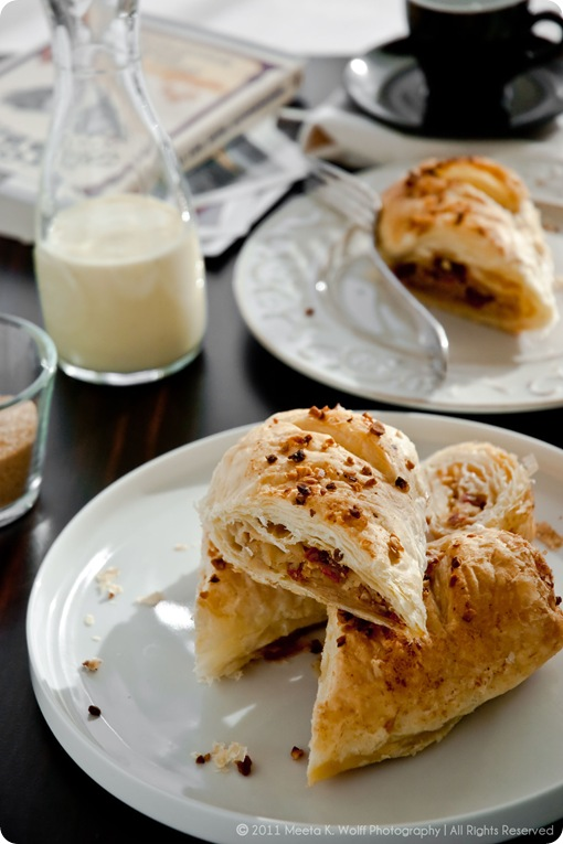 Cinnamon Kissed Apple and Goji Berry Strudel 0012 by Meeta K. Wolff