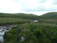 Looking south along the Afon Twrch (Abercraf, United Kingdom) Photo