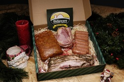 I just like the idea that Santa would bring a box of various meats for Christmas.