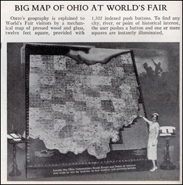 Who needs that big a map to find the Cleve in amidst all those cornfields?