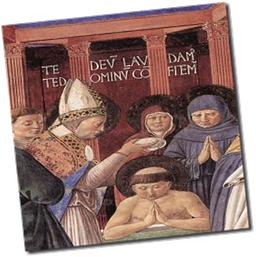 St Augustine Baptism