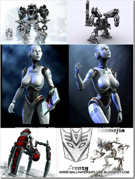 FUTURE ROBOTS WALLPAPERS {H33T} (www.wallpapersxplore.blogspot