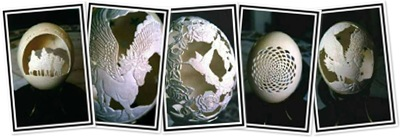 View Amazing Eggshell sculptures - 1