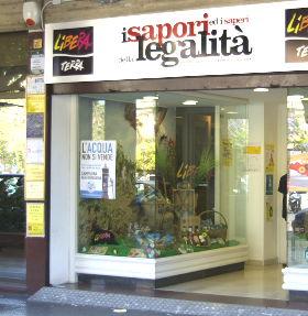 Sizilien - Addiopizzo - Bottega dei Sapori e dei Saperi della Legalità - Produkte von konfiszierten Mafia-Ländereien