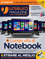 Screenshot of Unieuro Magazine