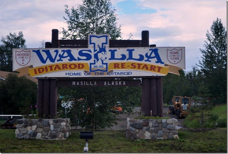 Wasilla sign