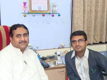 Devang Vibhakar with Vasant Pathak
