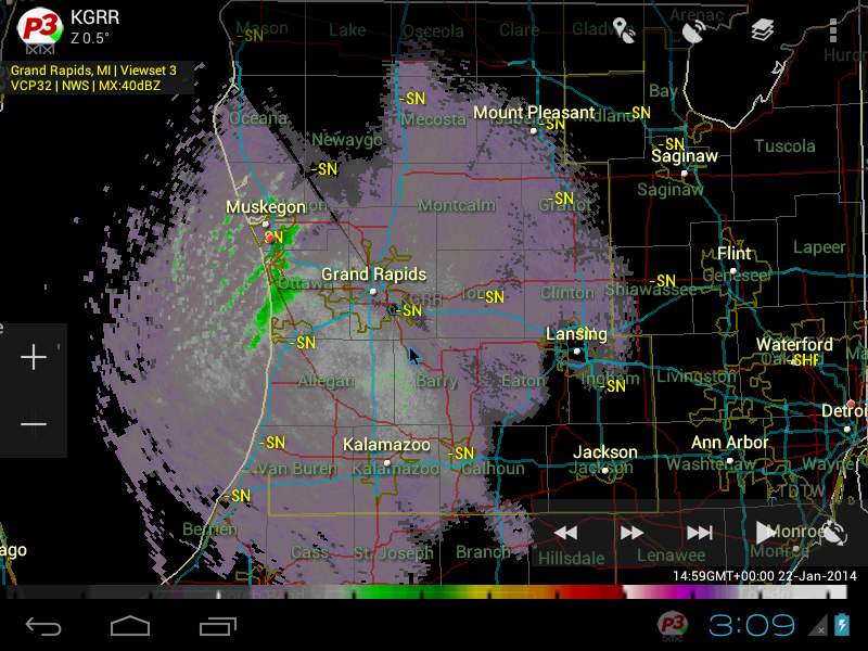 PYKL3 Radar (USA NEXRAD/TDWR) Screenshot 13