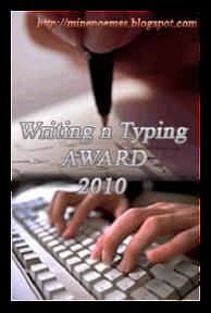 Writing n Typing Award 2010 dari Seiri yang Pandai Berpuisi