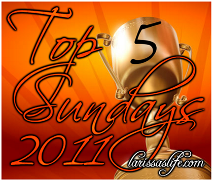 top 5 sundays image 2011 simpler