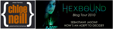 chloe neill and hexbound tour image