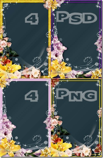 Frames - Flower