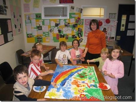 Совместное творчество учеников младшего класса
