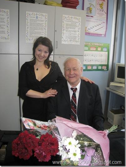 Ольга Верижникова-Хардинг и Мэл Эдвардс