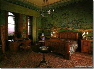 Замок Пенрин, комната в индийском стиле