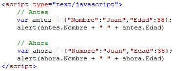 Código generado