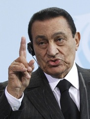 Mubarak in Berlin  March 2010