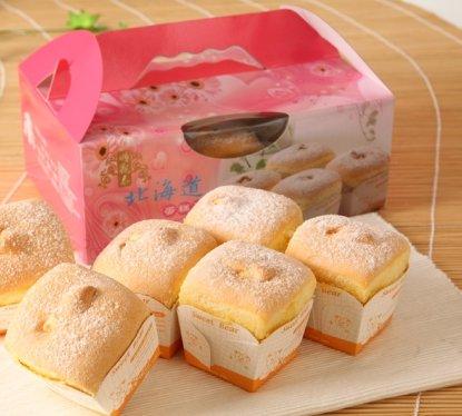 順觀泰團購美食-北海道戚風蛋糕泡芙
