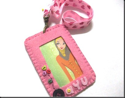 id card holder-ayu