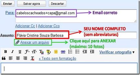 Modelo para o Gmail