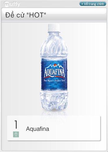 Muffy Aquafina