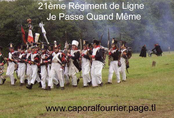 Вступаю в 21eme regiment de Ligne  21.01
