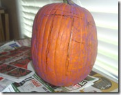 Tommy's pumpkin
