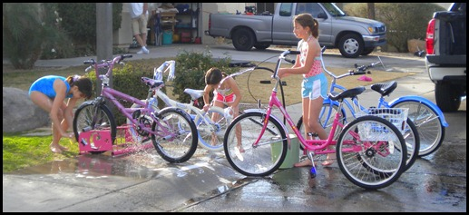 bike washing